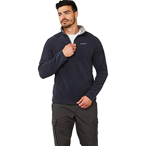 Craghoppers Corey Half Zip Fleece Top - AW19 - Large - Blue Navy Ml from Craghoppers