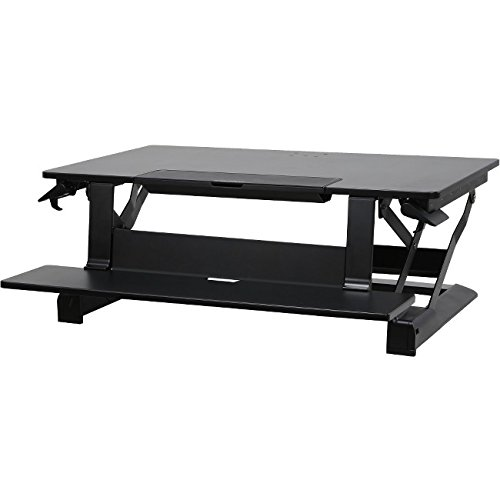 Drop Down Keyboard (Ergotron 33-444-921 WorkFit-TLE Sit-Stand Desktop Workstation, a Standing Desk Converter)