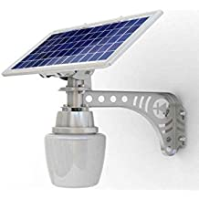 2 pack Unique REAL SOLAR PANEL Patio Safety and Security Lamp 2 Pack Residential or Commercial 800 Lumens