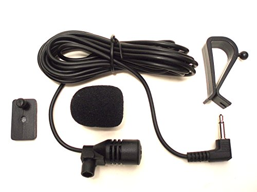 - FingerLakes 3.5mm Microphone Assembly Mic for Car Vehicle Head Unit Bluetooth Enabled Stereo Radio GPS DVD