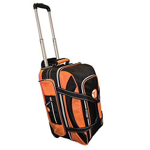 Taylor Ultimate Trolley Bag for Crown OR Flat Green Bowls 371 (Black/Orange)