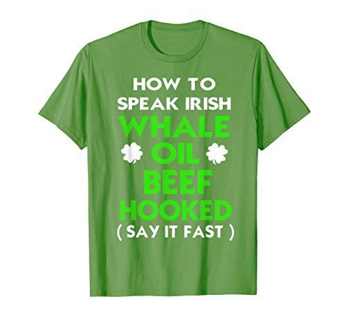 - How To Speak Irish Shirt St Patricks Day Funny Shirts Gift