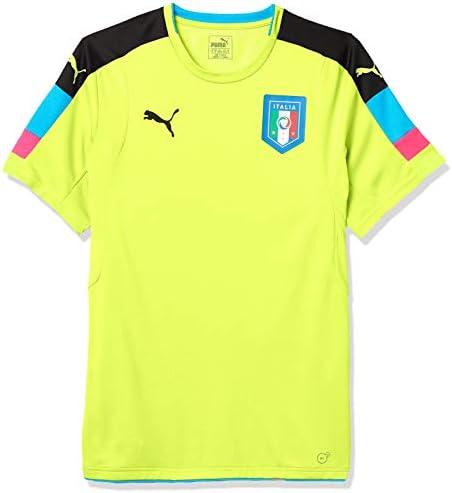 メンズ Figc Italia ゴールキーパー 半袖シャツ