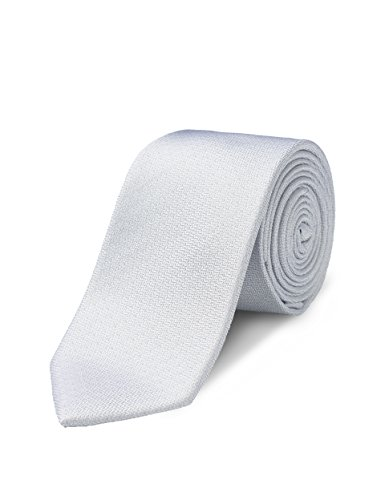 - ORIGIN TIES Men's Fashion 100% Silk Solid 2.5 inches Skinny Tie Sliver