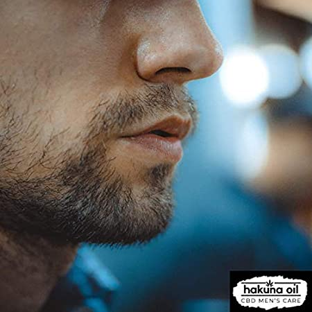 Hakuna Oil Men´s Care | Crema hidratante facial para hombres de uso diario con extracto de cáñamo | 30ml |100% Orgánico Ecológico BIO y Vegano | Antiedad, Antiarrugas y Reafirmante