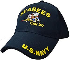 Navy Seabees Can Do Low Profile Cap