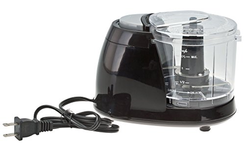Black Electric Chopper Home Style Kitchen