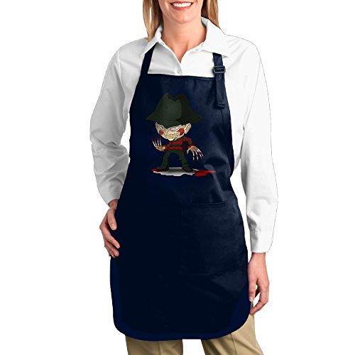 Valenti47 Nightmare On Elm Street Freddy Krueger Pizza Cute Kitchen Apron With (Lyn Me Costume)