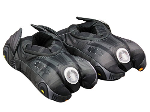 Batman Shoes For Women - DC Comics Women's Batmobile Black Slippers