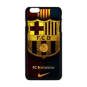 2015 Bestselling FCB FOOTBALL MARK Phone Case for Iphone 6 plus Black