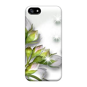 New Arrival Beautiful Whites For Iphone 5/5s Case Cover