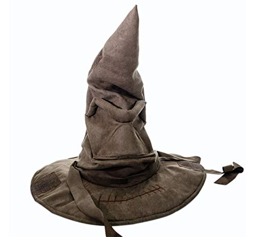 Harry Potter Real Talking Sorting Hat Animated Costume, Brown -
