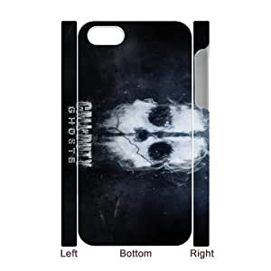 High Quality Specially Designed Skin cover Case iPhone 4 4s Cell Phone Case 3D games Call of Duty ghosts skull