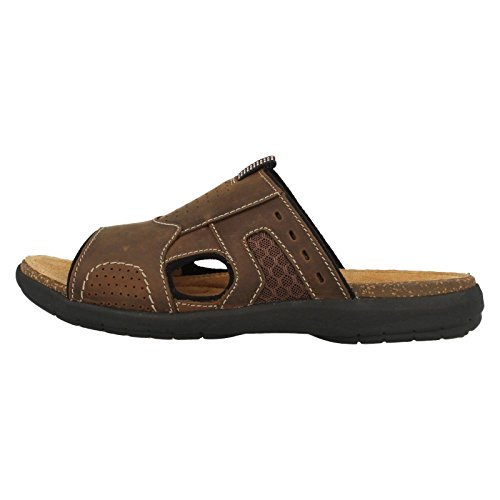 Clarks Men's Unbryman Easy Sandals Brown Style OqqwzxT