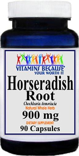 Raifort racine Capsules 900mg - Anti-inflammatoire, des infections, respiratoires