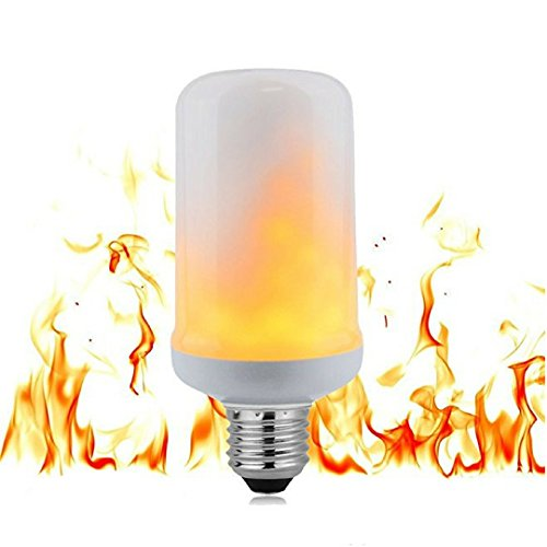 Flicker Flame Light Bulb and Flame Bulb LED, Top Rated LED Flame Light Bulb, Best LED Flame Effect Bulb, Indoor and Outdoor Flickering Flame Light Bulb, LED Flicker Flame Bulb by ViziLit