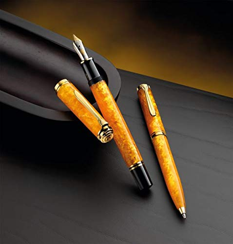 M600 Vibrant Orange Fountain Pen with EF Nib
