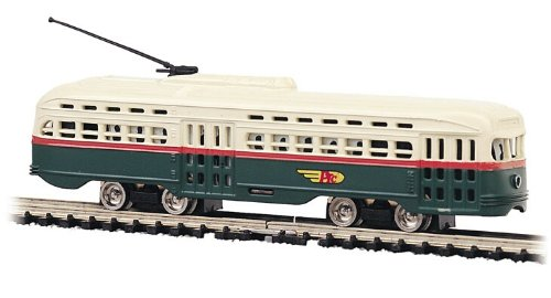 PCC (President's Conference Committee) Streamlined Streetcar - Philadelphia Transportation Co.  Standard DC - N Scale ()