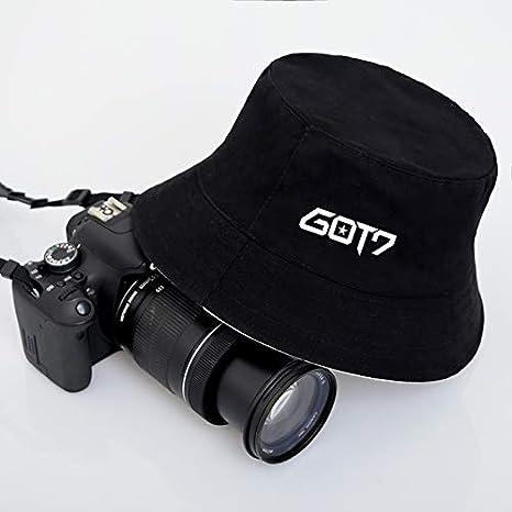 36eec62dd6a19a Amazon.com: Kpop BTS Bangtan Boys Wanna ONE GOT7 Blackpink Black Bucket  Hats Panama Hats for Men and Women (Blackpink-Black): Clothing