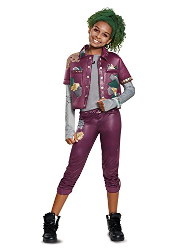Disguise Eliza Zombie Classic Child Costume, Red, Medium/(7-8)