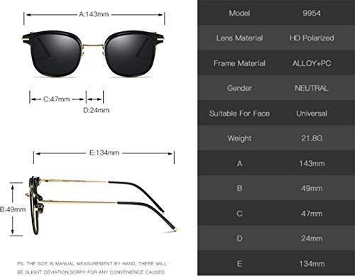 Modelos Mujer versátiles Sol Coloridas de XINGUANG Gafas Sol Moda polarizadas y Gafas de para de RwXpYSxqX