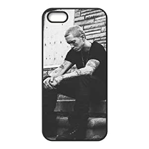 Cool Painting Eminem The Unique Printing Art Custom Phone Case for Iphone 5,5S,diy cover case case-690300