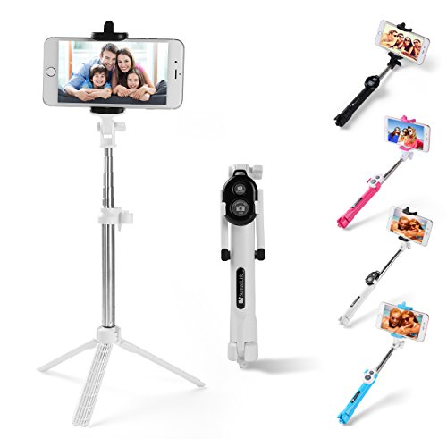Sky Mobile Phone Holder and Monopod (Pink) - 2