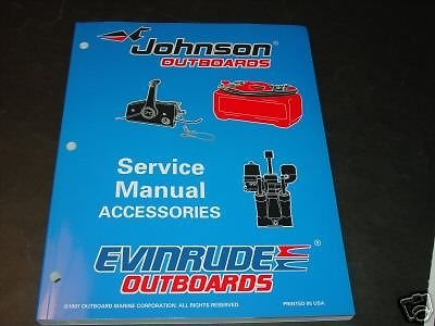 1998 Omc Outboard Accessories Service Manual