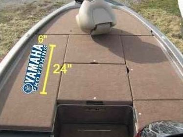 Amazoncom Large Carpet Graphic YAMAHA Pro Fishing For BASS - Decals for boat carpet