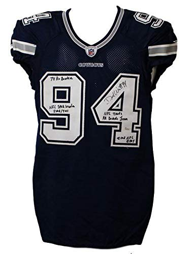 premium selection d1ab8 51040 Demarcus Ware Autographed Dallas Cowboys Game Issued Jersey ...