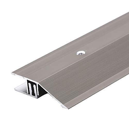 GWXFHT Threshold Strip Seam edge strip Thicken Wooden floor High and low buckle hypotenuse threshold Blanking strip Flat…
