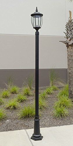 Outdoor Lamp Post With Outlet And Photocell in Florida - 8