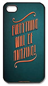 Everything Will Be Amazing Hard Plastic Back Fits Cover For Apple Iphone 5C Case Cover -1122035