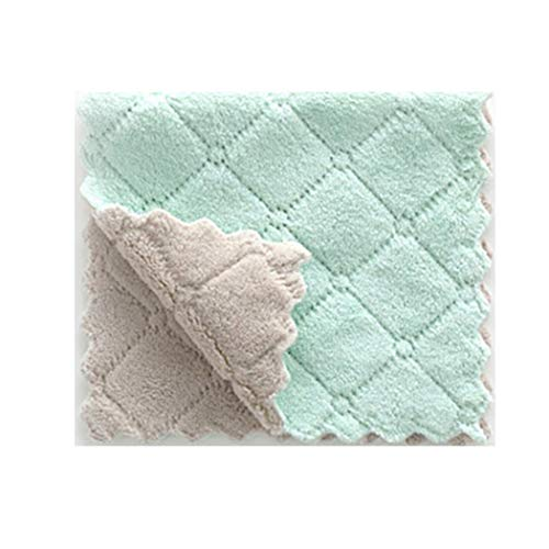 Foshin Kitchen Multipurpose Solid Absorbent Microfiber Towel Household Cloth Rag All-Purpose Cleaners from Foshin