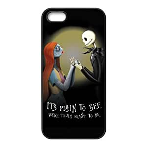 iPhone 5 5s Black Cell Phone Case The Nightmare Before Christmas KVCZLW0964 Plastic Personalized Phone Case Cover