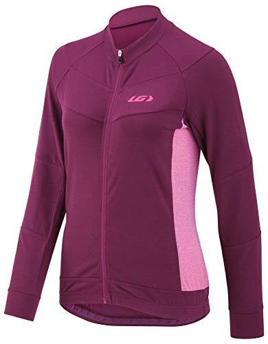 (Louis Garneau Women's Beeze Long Sleeve Cycling Jersey, Magenta Purple, Medium)