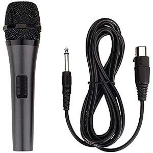 Karaoke Usa(tm) M189 Professional Dynamic Microphone With Detachable Cord from KARAOKE USA