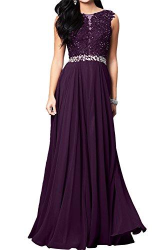 Toscana sposa romantica Nuovo Pizzo vino rosso pietra Chiffon a linea di sera vestiti da pavimento lungo Party vestiti prom abiti uva 34