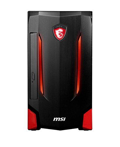 Vorschaubild MSI Nightblade MI2-B7670097048G1T0DS10MH Desktop-PC (Intel Core i7 6700 , 8GB RAM, 1TB HDD, NVIDIA GeForce GTX 970, Win 10 Home) schwarz