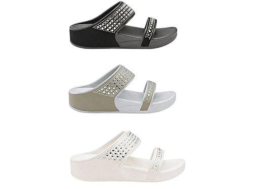 Ciabatte Foster Footwear Footwear Foster Ciabatte Grey Donna Donna Footwear Foster Grey fwq8xaPq
