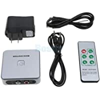 FidgetGear Tape Cassette/DVD/ TV to MP3 Converter Capture Digital Audio Music Player