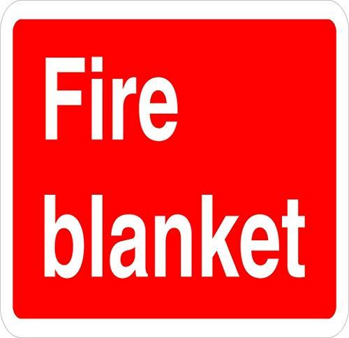 Fire Blanket Fire Label Decal Sticker 8