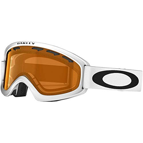 364fa1d3797 Oakley O2 XS Youth Snowmobile Goggles - Matte White Persimmon   One Size