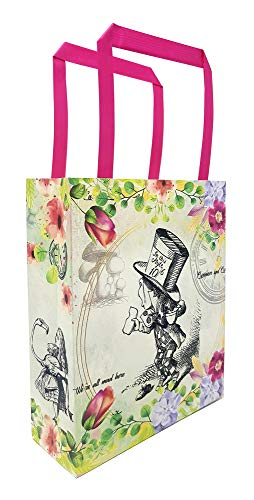 Alice in Wonderland Party Favor Bags - Pack of 12 - Mad Hatter Party - Alice in Wonderland Party -