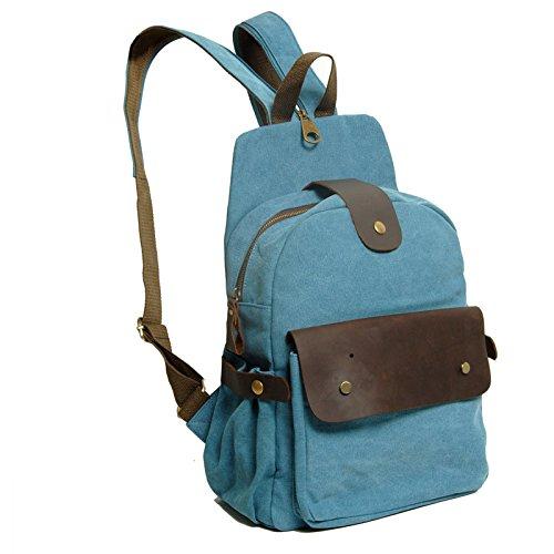 Main Sac Adorable Bandoulière à MSZYZ à bleu Tempérament Sac Fille de étudiant Mode Design RIwRAq7H