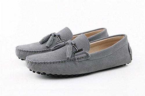 barca penny Grigio nappa Minitoo scarpe mocassini scamosciati da chiaro Grigio con w00Fq1