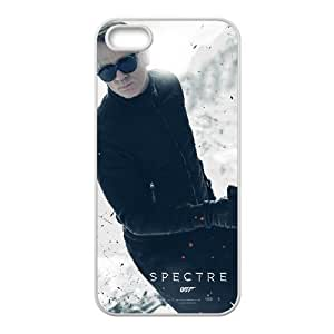 007 James Bond iPhone5s Cell Phone Case White yyfabb-113659
