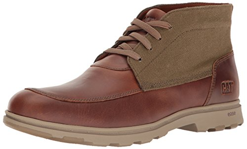 Caterpillar Mens Carnaby Canvas Fashion Sneaker Bruine Suiker