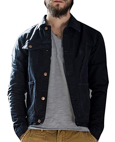 Unlined Denim Jacket - 9