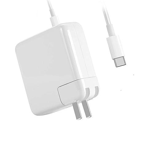 Amazon.com: 87W USB-C Cargador Adaptador de corriente con ...